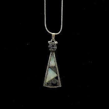 Rare 'Old Pawn' Navajo Pendant